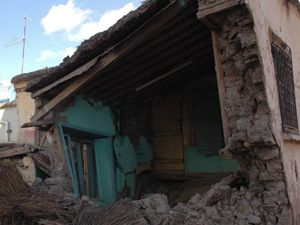 Konyada Bir Ev Çöktü