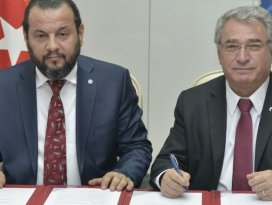 KMÜ ile KGTÜ arasında işbirliği protokolü