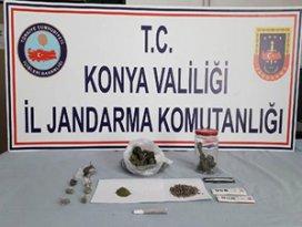Konyada uyuşturucu operasyonu: 7 gözaltı