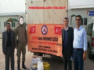 Konya'dan Mehmetçiğe destek