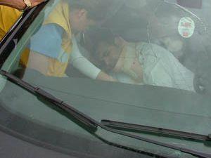 Kuluda trafik kazası:1 yaralı
