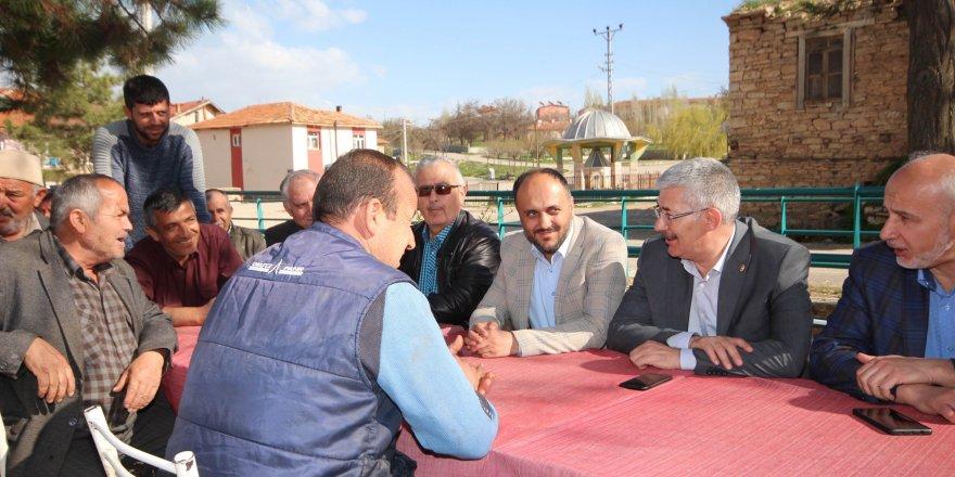 Milletvekili Babaoğlu ve Başkan Özaltundan mahalle ziyaretleri