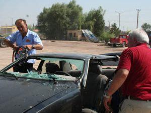 Beyşehir itfaiyesine kazazede kurtarma ekipmanları.