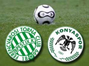 Konyaspor Macaristanda kazandı.