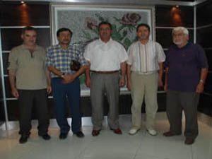 Fatih Eğitim ve Kültür Vakfından nezaket ziyareti