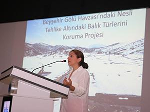 Beyşehir Gölü'nün nadir balıkları' masaya yatırıldı