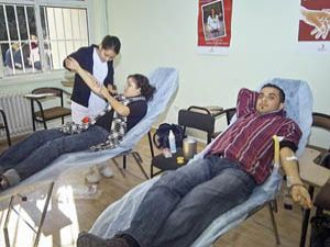 Üç günda 120 ünite kan bağışı