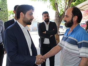 AK Parti Konya Milletvekili Adayı Zeren esnafı ziyaret etti