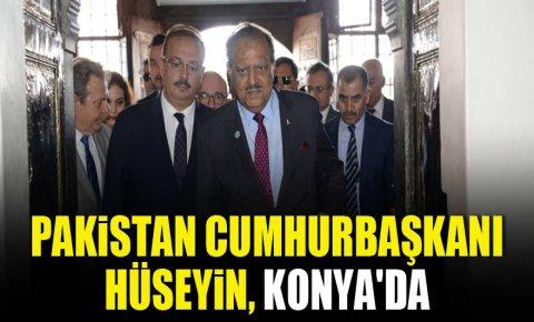 Pakistan Cumhurbaşkanı Hüseyin, Konyada