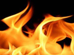 Trafo merkezinde yangın