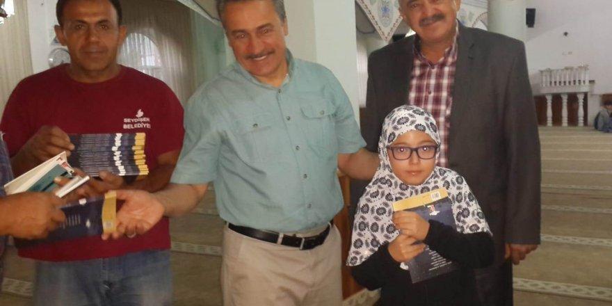 Başkan Tutal, Siteler Camiinde çocuklarla buluştu