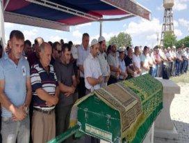 Termik santraldeki göçükte ölen işçi toprağa verildi