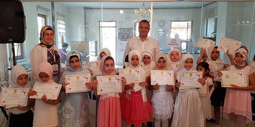 Ilgın ASEMde 450 öğrenciye Kuran eğitimi verildi