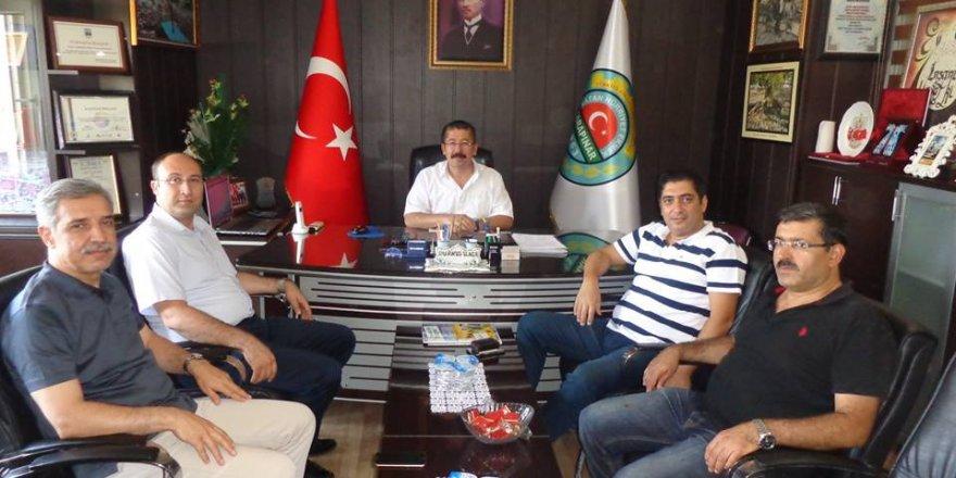 KOP Başkanı Bostancı Karapınarı ziyaret etti
