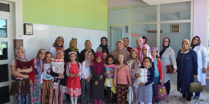 Karatay Kadın Meclisi Gaziosmanpaşa Kız Kuran kursunu ziyaret etti