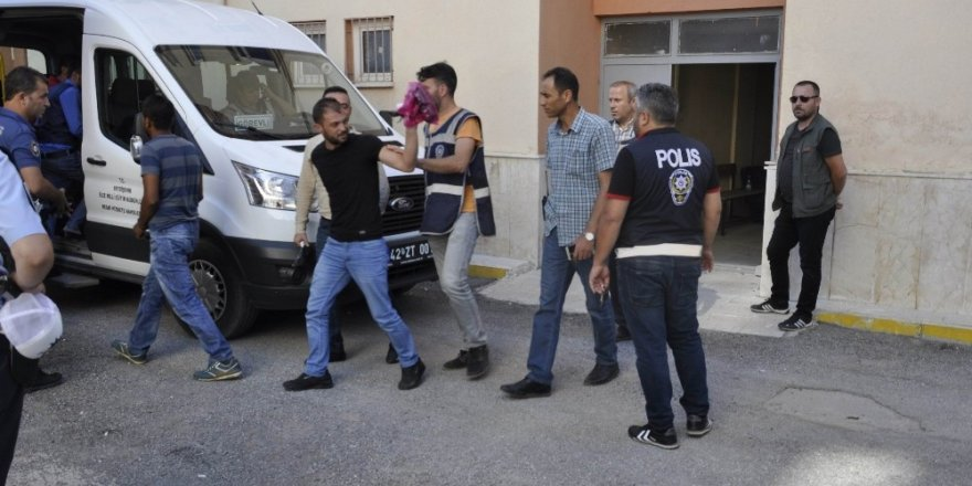 Konyada uyuşturucu operasyonunda 6 tutuklama