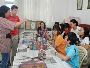 Güney Koreli Öğrenciler Konya'da