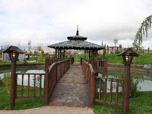 Türkiyenin en büyük Japon Bahçesi