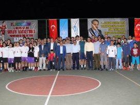 Sokak basketbolu turnuvası sona erdi