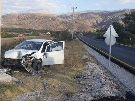 Konyada trafik kazası: 2 yaralı
