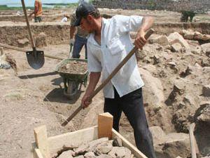 Kubad Abad kazılarında yeni buluntular