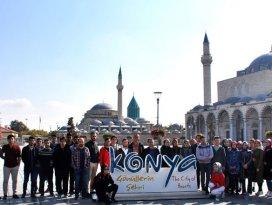 NEÜ öğrencilerine üniversite hayatına giriş dersi kapsamında Konya tanıtıldı