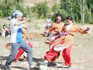 Konyalı bayanlardan futbola büyük ilgi