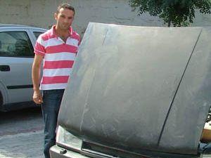 Ankarada çalınan otomobil Konyadan çıktı