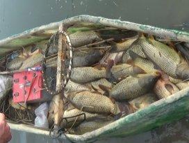 Beyşehir Gölü'nde 61 avcıya 155 bin lira ceza