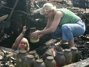 Rusya yanıyor, halk telaşta