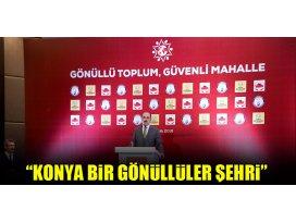 """Başkan Altay: """"Konya bir gönüllüler şehri"""""""