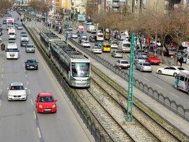 Konya'da araç sayısı arttı