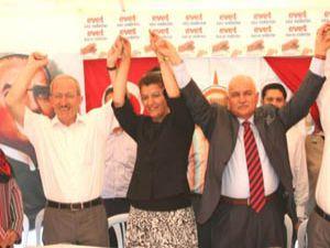 Konyada Demokrasi Çadırı açıldı