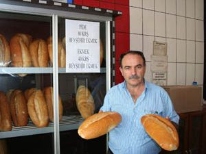 Beyşehirde Ramazanda ekmek fiyat indirimi