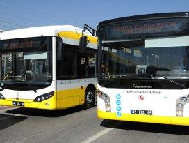Konya Büyükşehirden yeni otobüs hattı