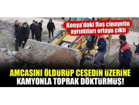 Konyadaki flaş cinayetin ayrıntıları ortaya çıktı!