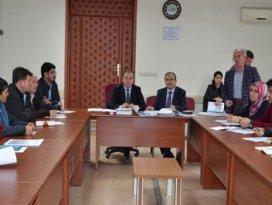 Bireysel sulama sistemlerinin desteklenmesi toplantısı yapıldı