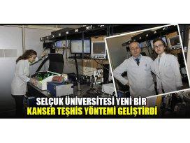 Selçuk Üniversitesi yeni bir kanser teşhis yöntemi geliştirdi