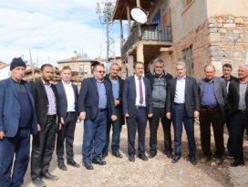 Hadimioğlu'ndan mahallelere ziyaret