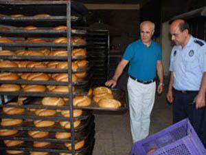 Karatayda ekmek gramaj denetimi
