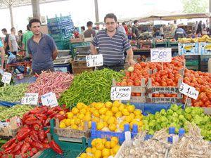Konyada sebze fiyatları arttı