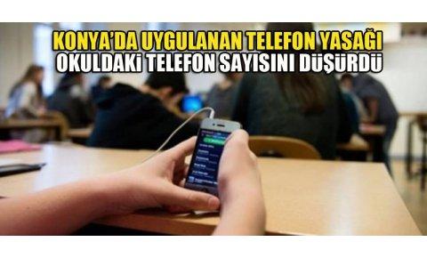Öğrencinin velisine ceza uygulaması okuldaki telefon sayısını düşürdü