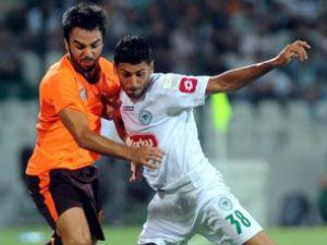 Konyaspor Bursadan eli boş dönüyor