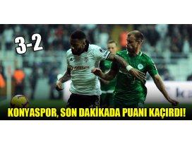 Konyaspor son dakikada puanı kaçırdı!