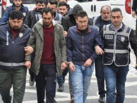 Akşehir'de uyuşturucu operasyonunda 5 zanlı tutuklandı