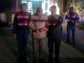 Konyada kiralık otomobille koyun çalan şüphelisi tutuklandı