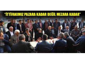 Usta ve Altay, Altınekin'de vatandaşlarla buluştu