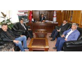 Başkan Hadimioğluna tebrik ziyaretleri sürüyor