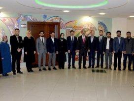 Usta ve Altunyaldız'dan Başkan Kılcaya ziyaret