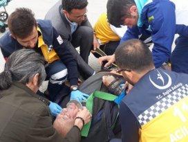 Konyada kazada yaralanan bisiklet sürücüsü yaşamını yitirdi